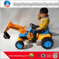 High quality best price kids indoor/outdoor sand digger battery electric ride on car kids amusement kids toy car engine