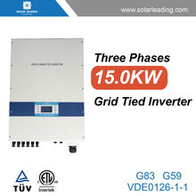 Hot sale 1500w growatt grid tied inverter connect to mono solar photovoltaic module for solar pv system