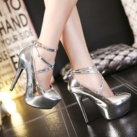 bulk sales latest designs night club ladies shoe supplier factory