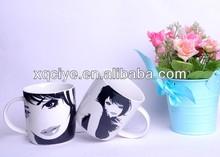 Wholesale 12oz Ceramic mug cup with lovers ceramic mugs mug cup coffee brand gifts