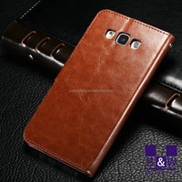 For Samsung Galaxy J5 J7 Case Wallet Design Pu Leather Mobile Phone Case For Smart Phone