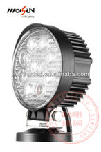 High Quality 27w led work lamp, 12v Led Light Truck, 2250LM offroad 4x4 jeep LED work lamp