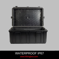 High Quality Hard PP large plastic storage case/waterproof equipment tool case IP67 800*505*400mm