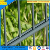 Hot sale ornamental double loop wire rod fence