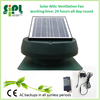 Powered by solar energy solar roof exhaust fan