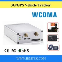 Real Time Battery Powered 12V 3G WCDMA Vehicle GPS Tracker Detector with Camera, SOS Button, RFID Reader, Fuel Sensor