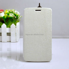 High Quality PU+TPU Material Mobile Phone Leather Case for LG G3 Mini