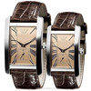 leather fashion watches AR0154
