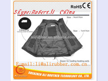 Electric Rechargeable Battery Heated Jacket For Winter Sports