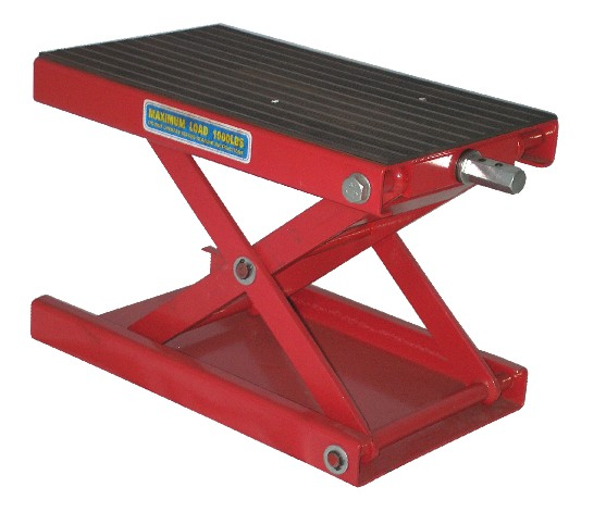 Hydraulic Motorcycle Stand : Mini type hydraulic motorcycle lift dirt bike scissor jack