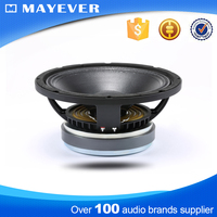 10NW250 2.5 inch voice coil 10 inch pa powered pro audio dj bass speaker