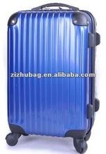 2012 good quality hard plastic abs trolley bag luggage