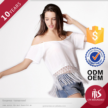 Competitive price superior quality soft women blouses and tops