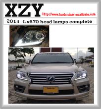lx570 head lamp for lexus lx570 13-15 style