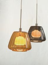 modern lighting new design blown glass pendant chandelier/chandelier glass lampshade