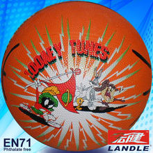 official size new style rubber made American bulk basketballs wholesale