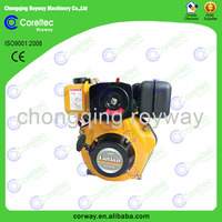 High Quality Air Cooled Recoil/Electric Start Single Cylinder 4-Stroke Diesel Engine 30HP