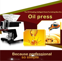 High efficiency good price home use oil expeller,oil press machine,and sunflower oil mill HJ-P09
