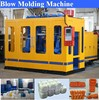 double station high capacity 500ml blow molding bottle machine