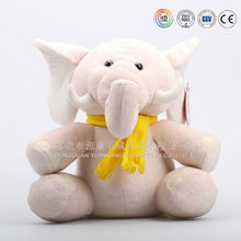 Eco-friendly soft baby toy & New Product High Quality grey cartoon Plush Elephant