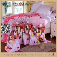 kintted fabric flannel blanket fleece child model new products made in china
