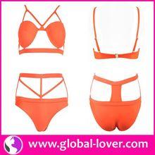 2015 Fashion Hot Sex Transparent Swimwear
