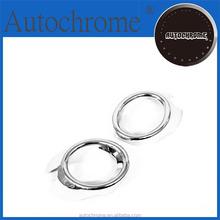 Flexible Car Chrome Trim, Chrome Front Fog Light Cover - for Mazda Mazda 3 / Axela 03-08