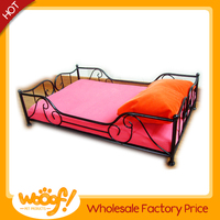 Hot selling pet dog products metal dog bed