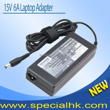 Fast Delivery 15v 6a 90w Laptop power supply For Toshiba PA2521U-3ACA