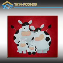 Cheap Sheep Framed Image On Canvas