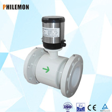 Magnetic battery electronics water flow meter