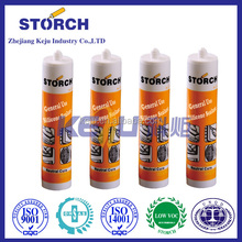 Double component compound silicone sealant gel time and release time will be shortened
