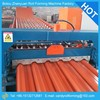 Galvanized steel roof sheet roll forming machinery line with automatic working system