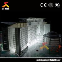 LST good quality construction building plastic model