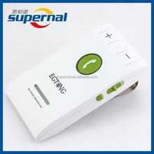 6E Sun Visor Speakerphone 4.0 Bluetooth Handsfree Car Kit with DSP