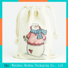 Customized cotton drawstring bag promotional gifts