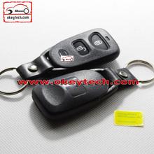 Hot sale kia key blank for kia 2 button remote control cover kia remote key case
