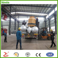 Manufacturer Free Pullotion Biomass Pyrolysis Plant machine for Oil in China