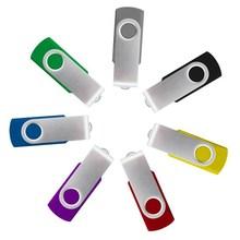 Popular USB flash drives swivel 1gb/2gb/4gb/8gb custom logo