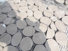 sıcak satış şişirme taş lavabo gri taş tencere