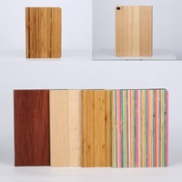 New Back Skin Wood Grain Protective Case For iPad Air 2 3 4