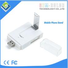 Smart Phone & Computer 4Ports USB HUB with card reader