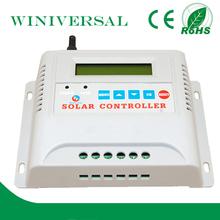 25A 12 v 24 v 48 v controlador de carga solar com função de MPPT CE RoHS