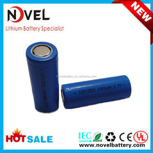 OEM factory 18500 3.7V 1400mAh cylindrical Li-ion polymer battery cell