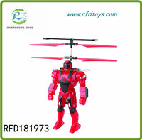 2.5 channel robot helicopter Rc toy robot kit helicopter with Infrared Rc robots sale