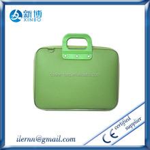 Custom print neoprene laptop sleeve notebook case with strap