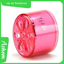 Pink gel freshener hot style pink air freshener with logo printing AS-055