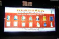 Low price best selling designer bus stop scrolling light box