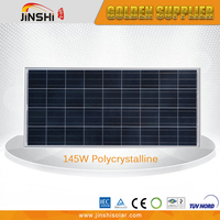 Factory Direct Sale Top Quality 145w Polycrystalline Solar Panels In Pakistan Karachi