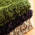 Pilha grossa 100% poliéster tapetes laváveis e tapetes